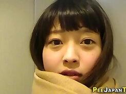 Chubby Japanese teen Holly Heart rough sex