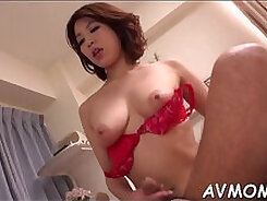 Blonde mom Linda gets fingered while friend watches