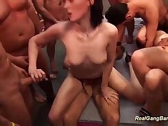 Best group sex party of your dreams! Another Glorious Gangbang fest ultimate
