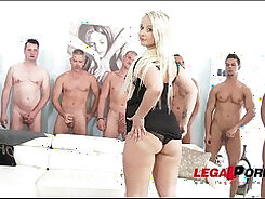 Buttfucked Spoiled Slut Gabriella Jane Gets Used For GangBang