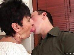 Busty Grandma Gives An Fun Evening