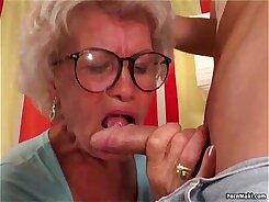 Granny Morgan Lee has big arseholes and a fuck stick