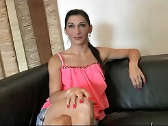 amateur busty french milf gave bj at night