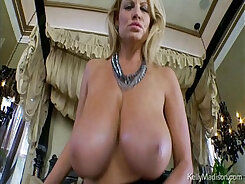 Blonde Kelly Madison Pleasures A Giant Cock