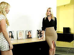 Chrissy Summers and Samantha Rone share a stud named Riley Landry