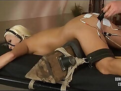 Big ass blondie anal abused in any roles