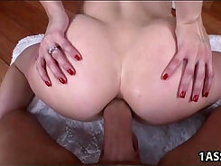 Big ass Ashley Fires tries anal sex with lucky buddy