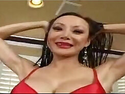 Asian mature having a great time