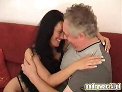 Bachelors wife with big tits meet a horny young guy