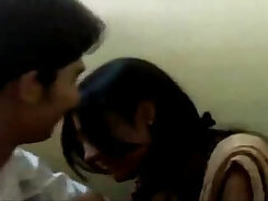 College Girls Have Fun During Kissing Party
