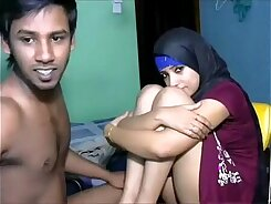 Couple Having Sex in front the bed on cam - INDIAN Duke