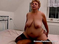 Busty Granny Loves To Fuck