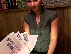 Brunette european amateurs are ready for cash