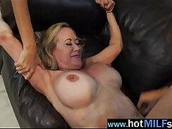 Blonde Mature Liza Demer Fucked In The Ass