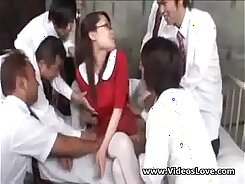 Attractive Tits Skinned Japanese GangBang in Singapore