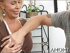 Big titted mature mother-fucked and facesitting