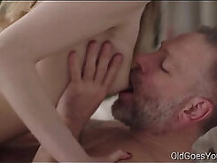Beautiful Young Blonde Takes Dick From Behind