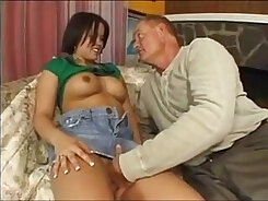 ice daddy gets two interracial movietures