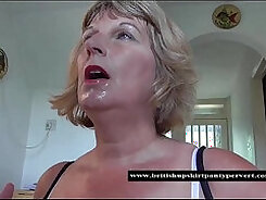British girl, Gui during swimsuit, rides and swallows cum