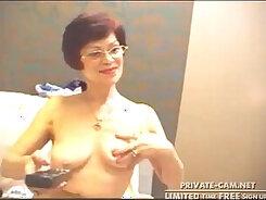 Amazing European Mature Fingering on Webcam