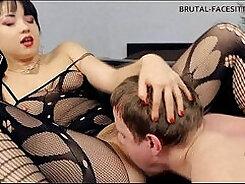 Angel Ruiz - Lesbian facesitting Femdom