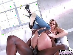 Anal pleasure at last Sally Bach has perfect ass
