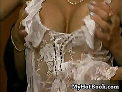 Alluring lap dancer gets fucked after epic bucking