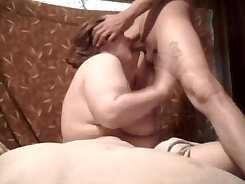 Bella takes a huge cock up her ass and gives it a solid deepthroat