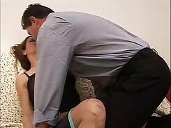 BLACKEDRAW Belted sissy Down StepSister abused