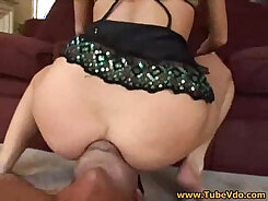girl with a nice ass is getting kissed and grabbed