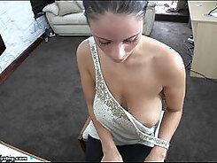 Busty Billie Star enjoys for some sexy boner