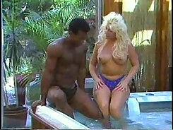 Classic interracial screwed ebony girl