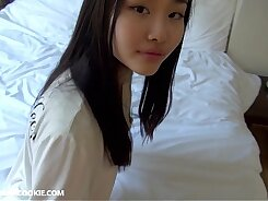 Amazing teens play and shoot home video and Japanese cumshot