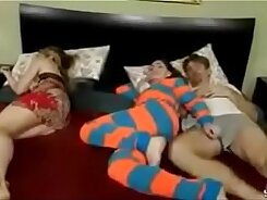 Jackie mom sleeping Rhythmic Dad Tube