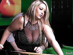 Aubrey Kate BBW Nylon Working Gets Wet