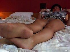 Erotic mom rides his dick
